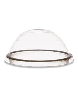 tampas para copos cÓdigos 103.62, 154.08/09/10 Ø 9,7x4,2 cm transparente pp (1000 unidade)