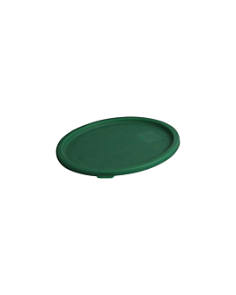 couvercle pour rÉfÉrences 164.78/79 Ø 18,9 cm vert pe (1 unitÉ)