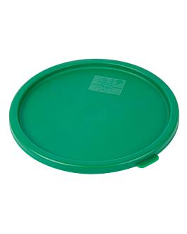 lid for items 164.78/79 Ø 18,9 cm green pe (1 unit)