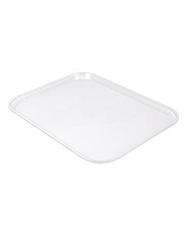bandeja para cÚpula 35,7x46 cm transparente policarbonato (1 unid.)