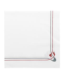 serviettes 'maxim' 45 g/m2 40x40 cm blanc dry tissue (700 unitÉ)