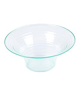 coppette 200 ml Ø 11,8x5 cm verde acqua ps (144 unitÀ)