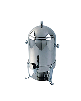 distributeur pour boissons chaudes 35x31x62 cm argente inox (1 unitÉ)