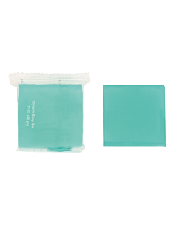 sabonetes 19 g 4x4 cm azul glicerina (500 unidade)