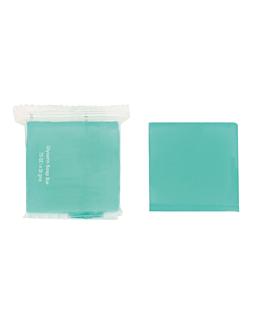 soaps 19 g 4x4 cm blue glycerine (500 unit)