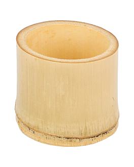 tubes droits Ø 5x4,5 cm naturel bambou (200 unitÉ)