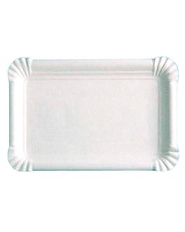 plateaux pÂtisserie - petites 15x9 cm blanc carton (250 unitÉ)