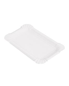 vassoi pasticceria - piccoli 15x9 cm bianco cartone (250 unitÀ)