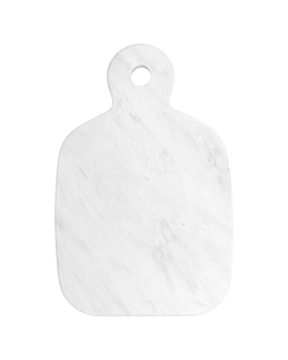 cutting board 25,4x16,6x1,5 cm white marble (4 unit)