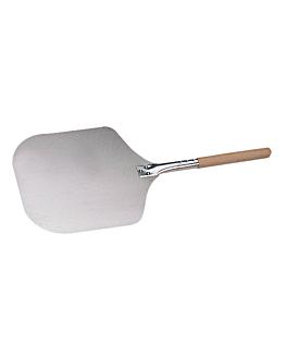 pala di pizza lati afilati 30,5x35,6x69 cm argento alluminio (1 unitÀ)