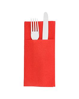 kangaroo napkins 55 gsm 40x40 cm red airlaid (700 unit)