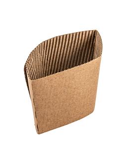 bagues pour gobelets 480 ml 170 + 90 g/m2 13/11x6,5 cm naturel carton (1000 unitÉ)