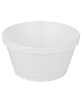 tarrinas 240 ml Ø 10,5x5,5 cm blanco pse (1000 unid.)