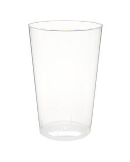 plastikbecher 500 ml Ø 9x14 cm transparent ps (360 einheit)