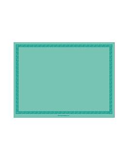 sets de table 60 g/m2 30x40 cm menthe dry tissue (800 unitÉ)