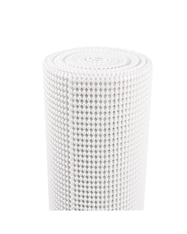 draining glass mat roll 33x400 cm white pvc (1 unit)