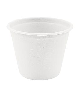 bicchieri 'bionic' 425 ml Ø 10,5x8,3 cm bianco bagassa (600 unitÀ)