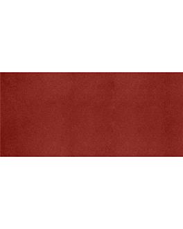 """""""tÊte À tÊte"""" 1/2 folded 55 gsm 40x100 cm burgundy airlaid (400 unit)"""