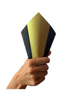 cornets 'noËl' 100 gr 250 g/m2 22 cm blanc carton (1600 unitÉ)