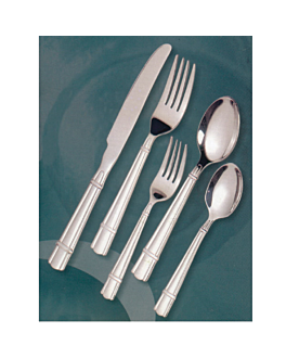 "dessert spoons ""linea 3025"" 16 cm/ 2,5 mm metal stainless steel 18% (12 unit)"