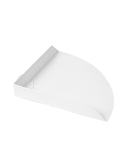 server crepes 'thepack' 230 gsm 17x17x2,5 cm white nano-micro corrugated cardboard (800 unit)