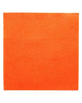 serviettes ecolabel 'double point' 18 g/m2 33x33 cm orange ouate (1200 unitÉ)