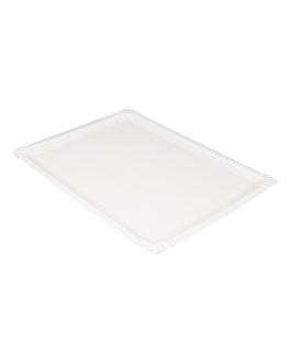 vassoi pasticceria - medi 45,5x34 cm bianco cartone (25 unitÀ)