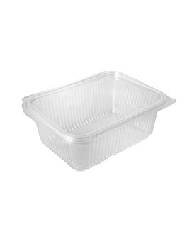 saladiers avec charniÈre 1 l 18,8x14,3x6,7 cm transparent pla (400 unitÉ)