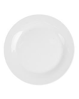 piatti piani Ø 19 cm bianco porcellana (72 unitÀ)