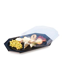 lids for code 158.86 45x30 cm clear rpet (50 unit)