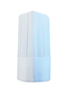 gorros ajustables clÁsicos 31 cm blanco airlaid (10 unid.)