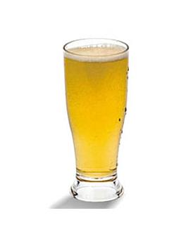 bicchieri birra base grossa 340 ml Ø 7x16,5 cm trasparente policarbonato (72 unitÀ)