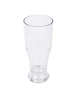 gobelets À biÈre base Épaisse 340 ml Ø 7x16,5 cm transparent polycarbonate (72 unitÉ)