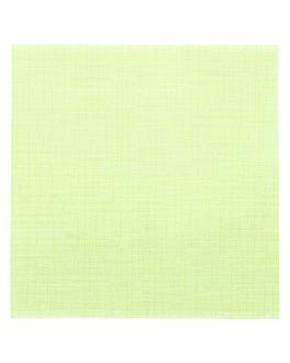 servilletas 'dry cotton' 55 g/m2 40x40 cm kiwi airlaid (700 unid.)