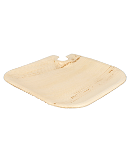trays with cup holder 'areca' 21x21x1,5 cm natural areca (200 unit)
