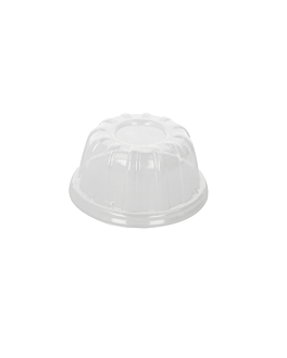 dome lids for items 126.57/58/83 Ø 10,7x6 cm clear ops (1000 unit)