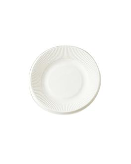 platos 'bionic' Ø 21x1,8 cm blanco bagazo (1000 unid.)