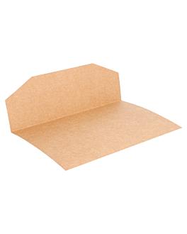 bandejas para bolsas 231.19 275 g/m2 16,5x16,5 cm natural kraft (250 unid.)