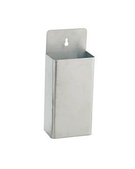 recipiente cavatappi 13,5x8x33 cm argento acciaio (1 unitÀ)