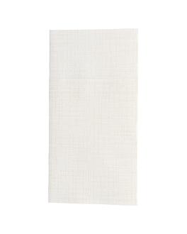 serviettes kangourou 'dry cotton' 55 g/m2 40x40 cm ivoire airlaid (700 unitÉ)