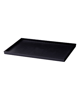 tray for amenities 32x21,2x1,9 cm black abs (1 unit)