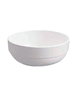 boles Ø 14x5,6 cm blanco melamina (72 unid.)
