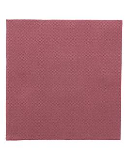 tovaglioli ecolabel 'double point' 18 g/m2 33x33 cm prugna tissue (1200 unitÀ)