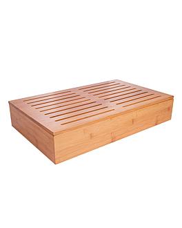 plancha para pan 53x32,5x9 cm natural bambÚ (1 unid.)