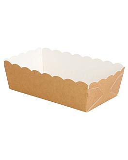 deli-barchetta 210 + 15 pe g/m2 9x5x3,2 cm marrone cartone (4000 unitÀ)
