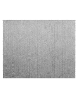 mantelines 'dry cotton' 55 g/m2 30x40 cm gris airlaid (800 unid.)