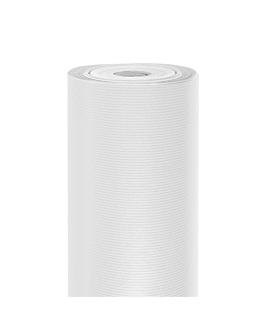 papel regalo 100 m 60 g/m2 70 cm blanco kraft verjurado (1 unid.)