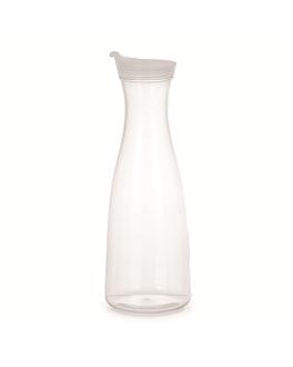 jug with lid 1,5 l Ø 6,5x31,5 cm clear polycarbonate (1 unit)