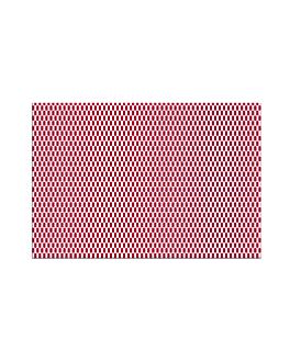 tovagliette 'like linen' 70 g/m2 30x40 cm bordeaux spunlace (800 unitÀ)
