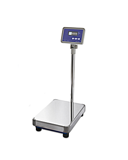bilancia digitale 150 kg. grad. 50 g 37,5x52x88 cm metal (1 unitÀ)